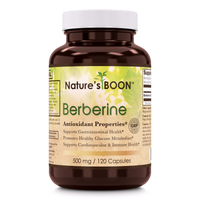 Nature's Boon Berberine 500mg 120 Capsules