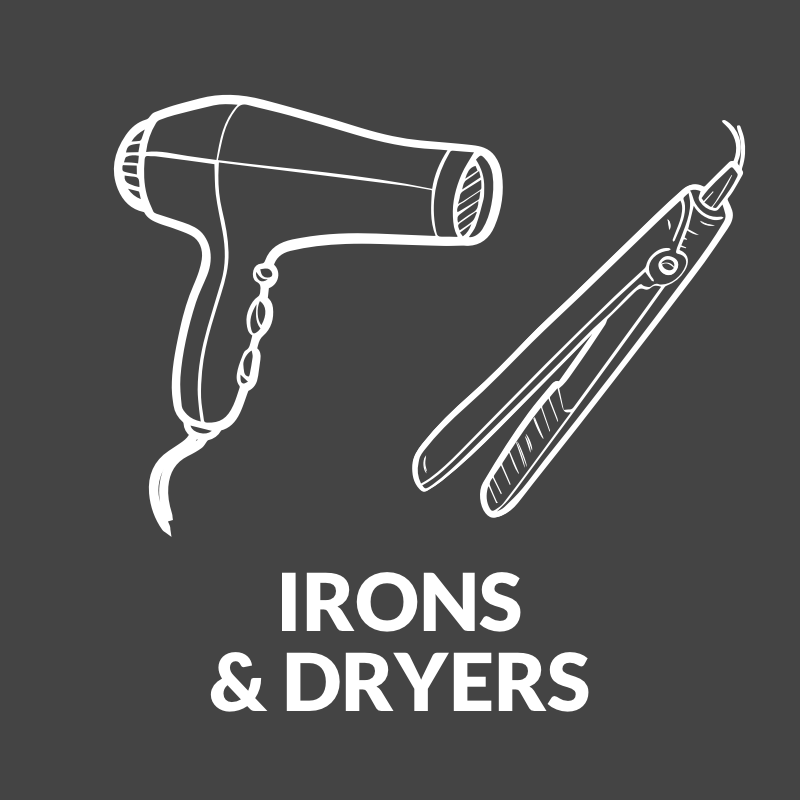 Irons & Dryers