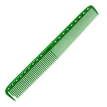 YS Park 335 Long Fine/Medium Combs YS Park Kelly Green