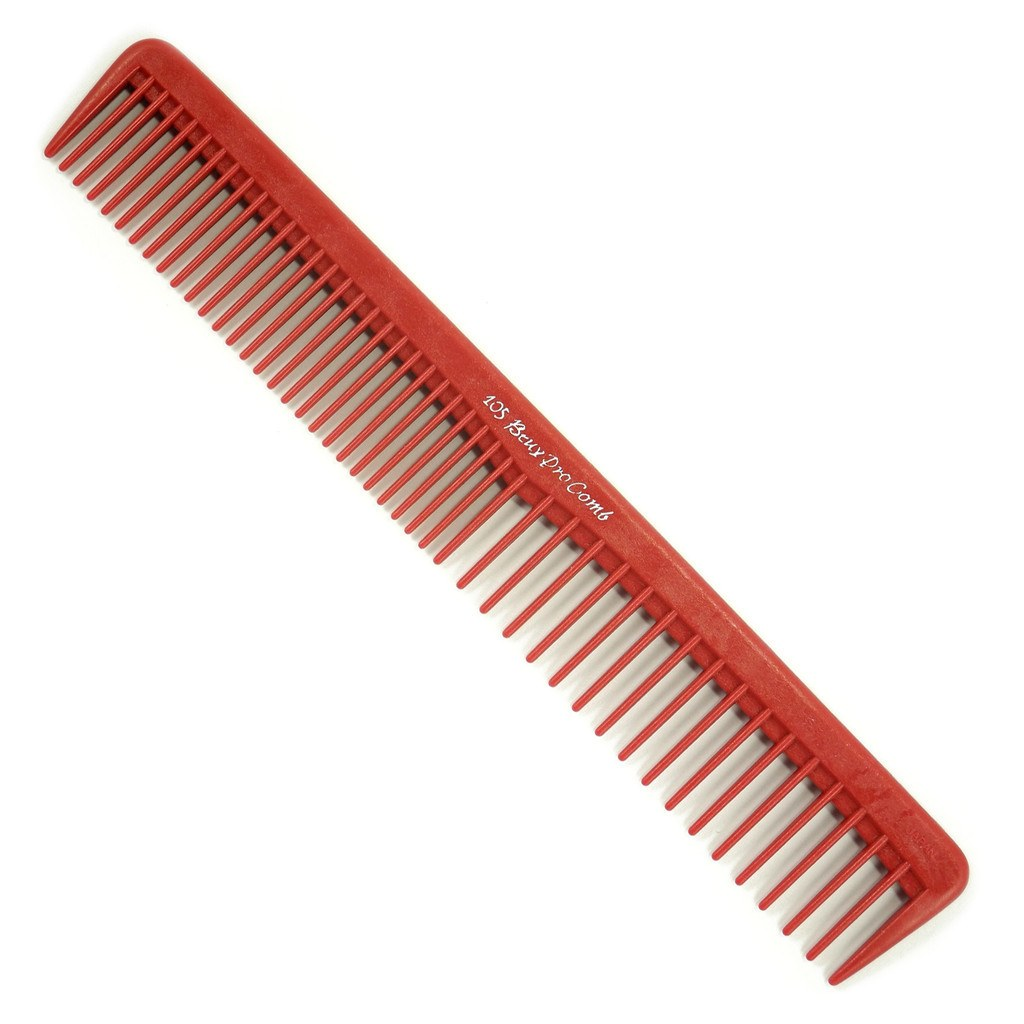 Beuy Pro 105 Combs Beuy Pro red
