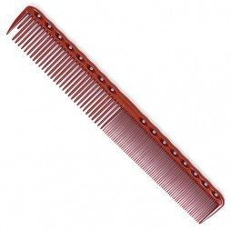 YS Park 336 Fine/Medium Long Tooth Combs YS Park Red