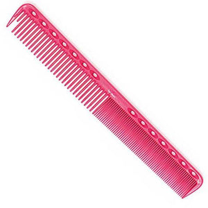 YS Park 339 fine/medium tooth comb for all hair types in pink