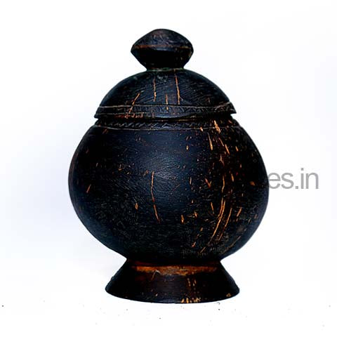 Coconut Shell Jar