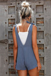 Lockerer Jumpsuit in kurz