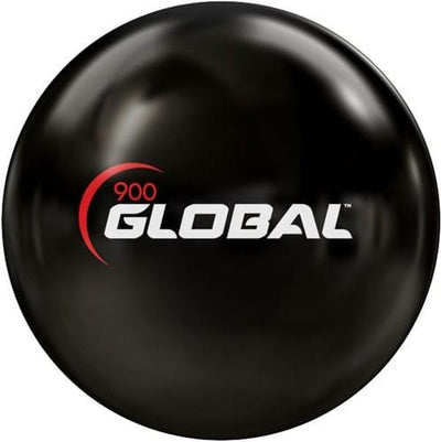 900Global Clear Poly Black Bowling Ball -BowlersParadise.com