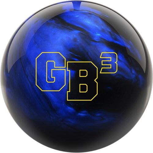 Ebonite Game Breaker 3 Hybrid Bowling Ball in Black Blue Color