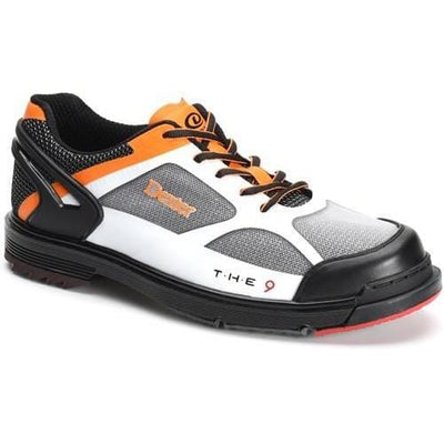 Dexter Mens THE 9 HT LE White/Black/Orange Bowling Shoes