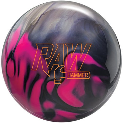 Hammer Raw Pearl Purple/Pink/Silver Bowling Ball
