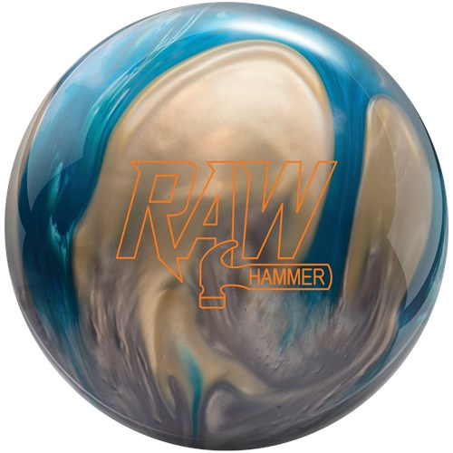Hammer Raw Pearl Blue/Silver/White Bowling Ball - PRE-ORDER SHIPS THU, MAY 20