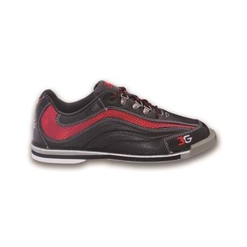 3G Mens Sport Ultra Black Red Left Hand