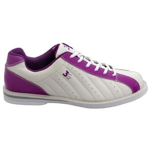 3G Womens Kicks White Purple