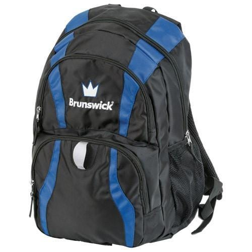 Brunswick Crown Backpack Black Royal