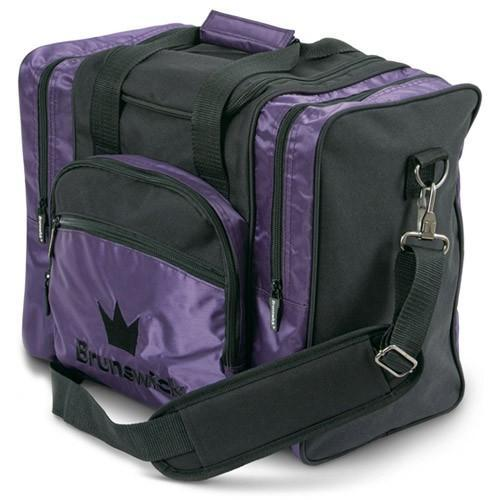 Brunswick Edge Single Tote Purple-BowlersParadise.com