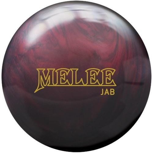 Brunswick Melee Jab Blood Red Bowling Ball - PRE-ORDER SHIPS THU, SEP 3-BowlersParadise.com