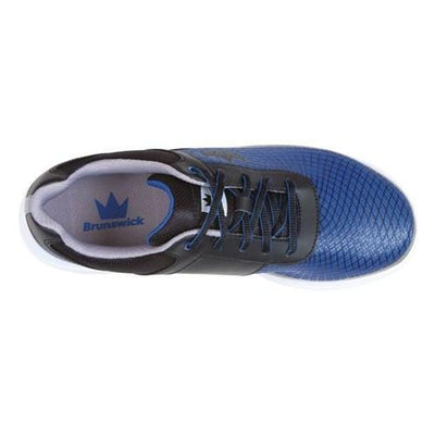 Brunswick Frenzy Black Royal Bowling Shoes For Men