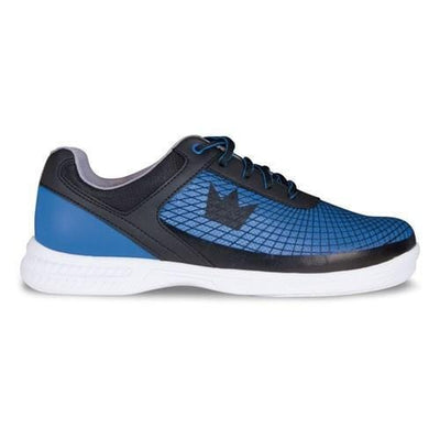 Brunswick Mens Frenzy Black Royal Bowling Shoes