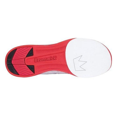 Brunswick Mens Fuze Red White