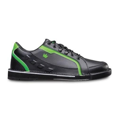 Brunswick Mens Punisher Black Neon Green Left Hand