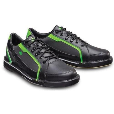 Black//Neon Green Brunswick Mens Punisher Bowling Shoes Right Hand Wide
