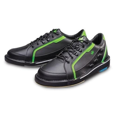 Brunswick Mens Punisher Black Neon Green Right Hand Wide