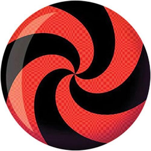 Brunswick Spiral Red Black Viz-A-Ball Bowling Ball