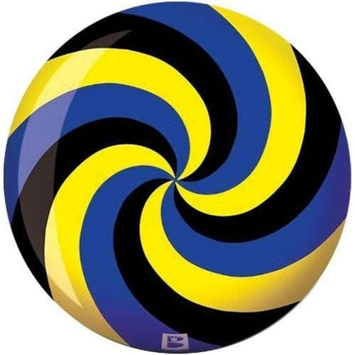 Brunswick Spiral Yellow Blue Black Viz-A-Ball Bowling Ball