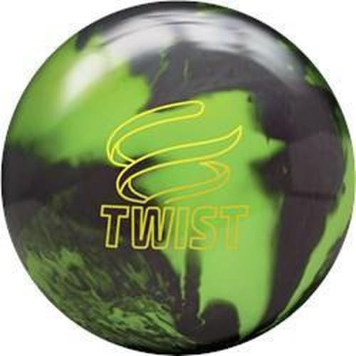 Brunswick Twist Neon Green Black Bowling Ball