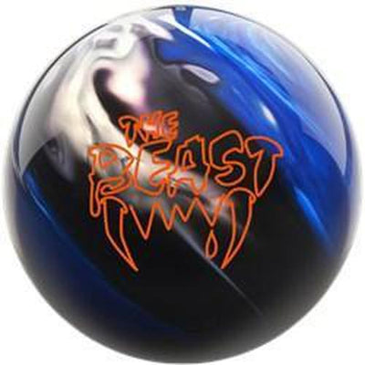 Columbia Beast Blue Black White Bowling Ball