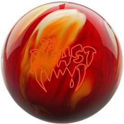 Columbia Beast Cherry Gold White Bowling Ball