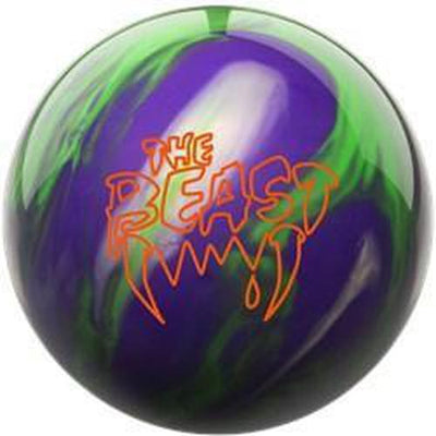 Columbia Beast Purple Lime Silver Bowling Ball