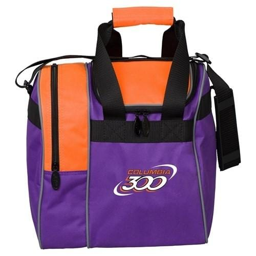 Columbia Team C300 Single Tote Purple Orange-BowlersParadise.com