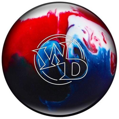 Columbia White Dot Patriot Sparkle Bowling Ball