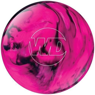 Columbia White Dot Pink Black Bowling Ball