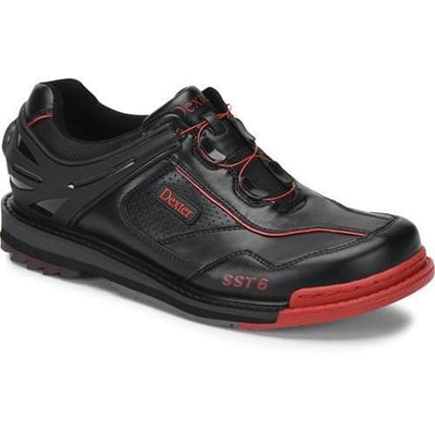 Dexter Mens SST 6 Hybrid BOA Black Red Right Hand