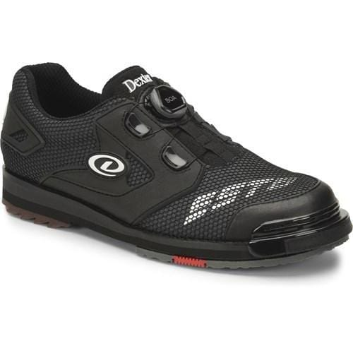 Dexter Mens SST 8 Power Frame BOA Black Wide Bowling Shoes-BowlersParadise.com