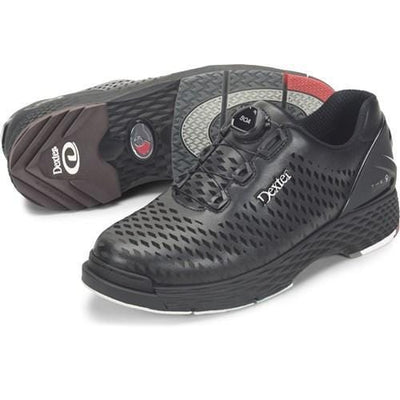 Dexter Mens THE C9 Lazer Black Bowling Shoes-BowlersParadise.com