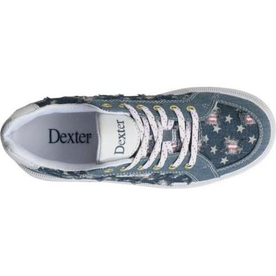 Dexter Womens Liberty Stars & Strikes Bowling Shoes-BowlersParadise.com