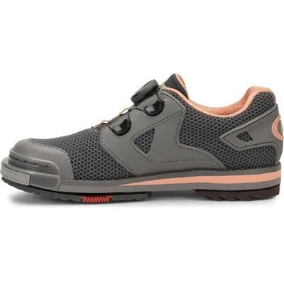 Dexter Womens SST 8 Power Frame BOA Grey/Peach Bowling Shoes-BowlersParadise.com
