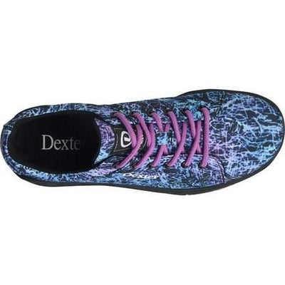 Dexter Womens Ultra Black Abstract