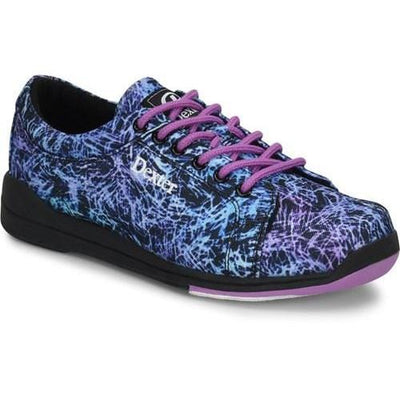 Dexter Womens Ultra Black Abstract Bowling Shoes