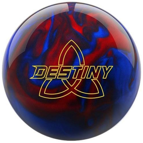 Ebonite Destiny Pearl Black/Red/Blue Bowling Ball