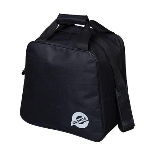 Ebonite Rec Single Tote Black Bowling Bag-BowlersParadise.com