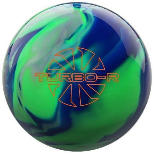 Ebonite Turbo/R Blue Green Silver