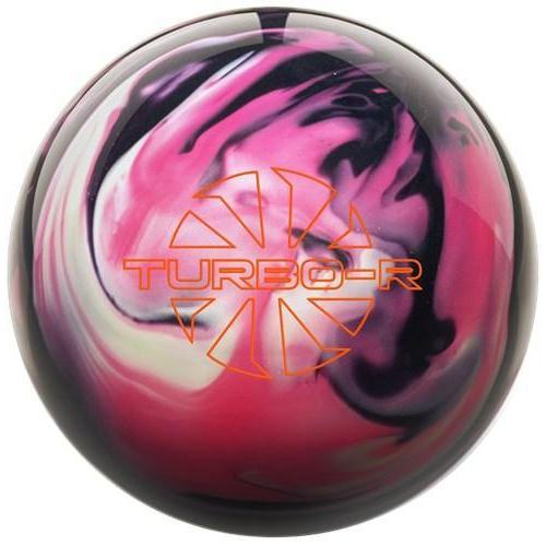 Ebonite Turbo/R Pink Black White Bowling Ball