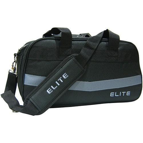 Elite 2 Go Tote Clear Plus Black Grey