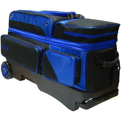Elite Deluxe Triple Roller Blue