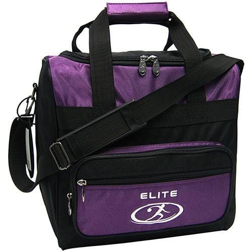 Elite Impression Single Tote in Purple Black color