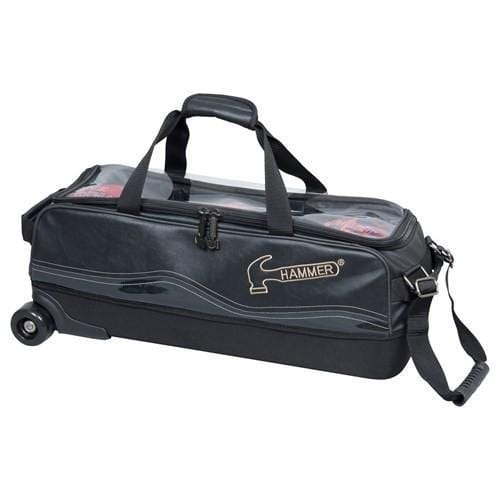 Hammer Force Slim Triple Tote Roller Bowling Bag