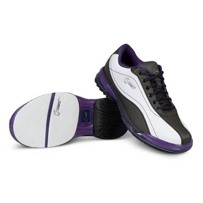 Hammer Lady Force Womens Right Hand Bowling Shoes - White/Black/Purple