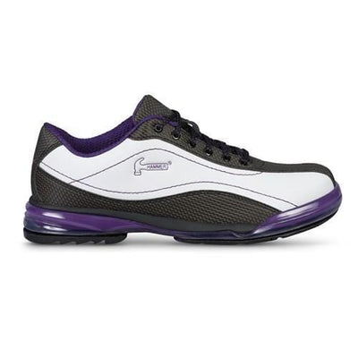 Hammer Lady Force Right Hand Bowling Shoes For Women in White/Purple/Black color
